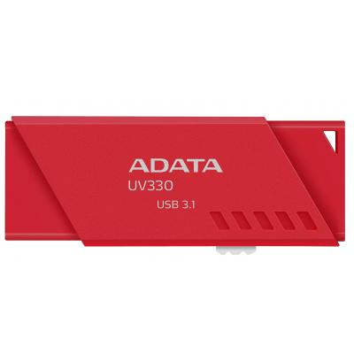 USB флеш накопитель A-DATA 32GB UV330 Red USB 3.1 (AUV330-32G-RRD)
