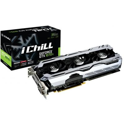 Видеокарта Inno3D GeForce GTX1070 Ti 8192Mb iChill X3 V2 (C107T3-3SDN-P5DS)