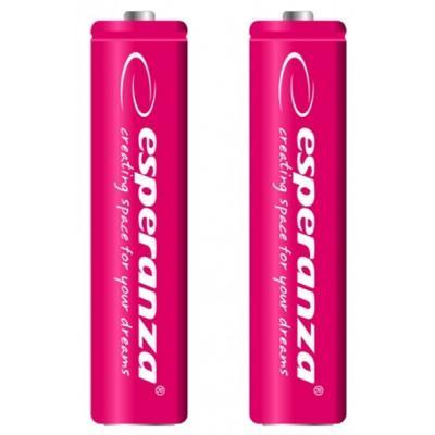 Аккумулятор Esperanza AAA 1000mAh Ni-MH * 2 red (EZA101R)