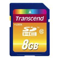 Карта пам'яті Transcend 8Gb SDHC class 10 (TS8GSDHC10)