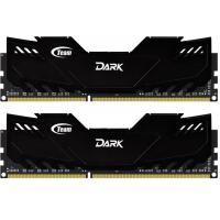 Модуль памяти для компьютера DDR-3 16GB (2x8GB) 1600 MHz Dark Series Black Team (TDKED316G1600HC10ADC01)