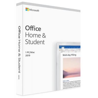 Офисное приложение Microsoft Office 2019 Home and Student English Medialess (79G-05061)
