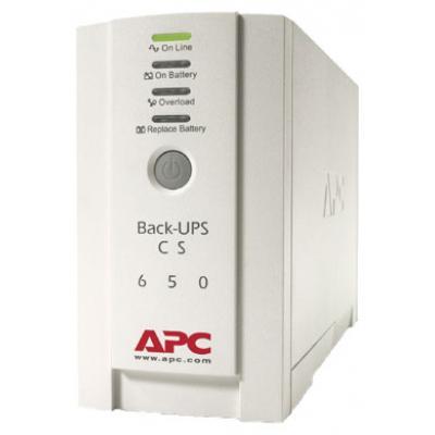 Источник бесперебойного питания Back-UPS CS 650VA APC (BK650EI)