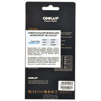 Батарея универсальная CoolUp CU-V8 6000mAh Black (BAT-CU-V8-BL)