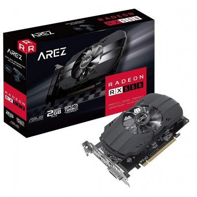 Видеокарта ASUS Radeon RX 550 2048Mb AREZ Phoenix (AREZ-PH-RX550-2G)