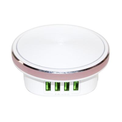 Зарядное устройство ColorWay 4*USB 4.4А + LED лампа 310 Lm (CW-CHL44A)
