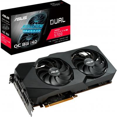 Видеокарта ASUS Radeon RX 5700 8192Mb DUAL OC EVO (DUAL-RX5700-O8G-EVO)