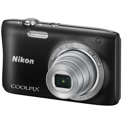 Цифровой фотоаппарат Nikon Coolpix S2900 Black (VNA831E1)