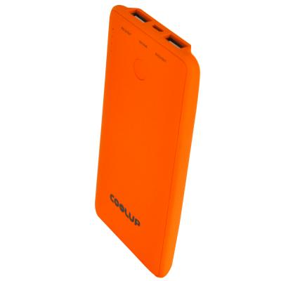 Батарея универсальная CoolUp CU-V8 6000mAh Orange (BAT-CU-V8-OR)