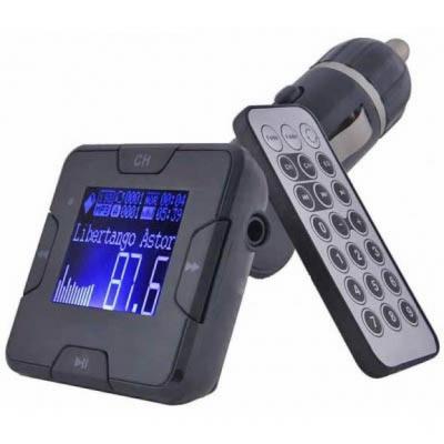 Автомобильный MP3-FM модулятор Grand-X CUFM22GRX black SD/USB (CUFM22GRX black)