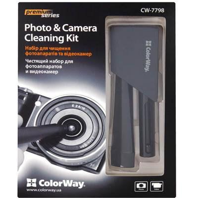 Очиститель для оптики ColorWay Photo & Camera Cleaning Kit (CW-7798)