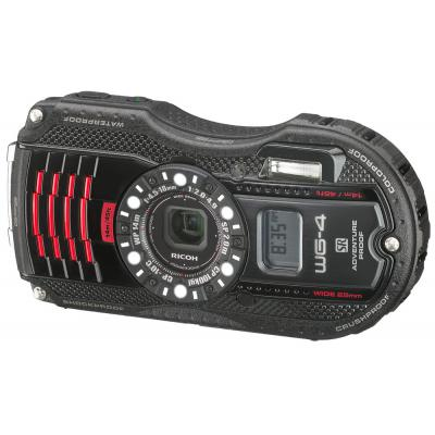 Цифровой фотоаппарат Ricoh WG-4 GPS Black-Red (8541)