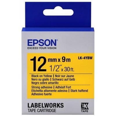 Лента для принтера этикеток EPSON LK4YBW9 (C53S654014)