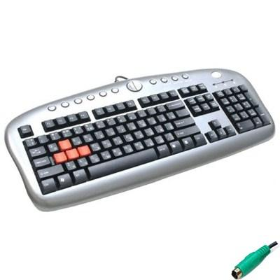 Клавиатура A4-tech KB-28 Game master (KB-28G-PS/2)