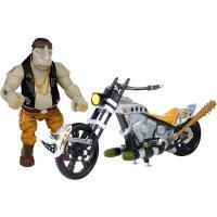 Боевой транспорт TMNT Черепашки-Ниндзя Movie Ii Мотоцикл и Рокстеди (89303)