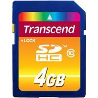 Карта пам'яті Transcend 4Gb SDHC class 10 (TS4GSDHC10)
