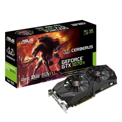 Видеокарта ASUS GeForce GTX1070 Ti 8192Mb CERBERUS Advanced Edition (CERBERUS-GTX1070TI-A8G)