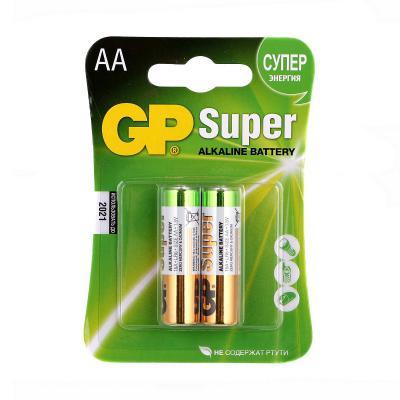 Батарейка AA LR6 Ultra alcaline * 2 GP (15AU-U2/15AUP-U2/15AU-2UE2)