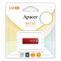 USB флеш накопитель 16GB AH133 Red RP USB2.0 Apacer (AP16GAH133R-1)