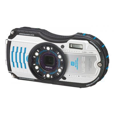 Цифровой фотоаппарат Pentax Optio WG-3 White-Blue Kit (1272202)