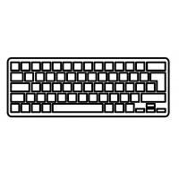 Клавіатура ноутбука ASUS X401 Series черная без рамки UA (AEXJU00010/MP-11L93U3-920/0KNB0-4100US00)