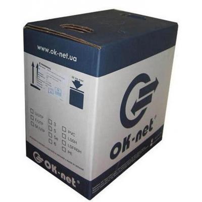 Кабель сетевой OK-Net UTP 305м cat.5e (КПВ-ВП (350) 4*2*0,50)