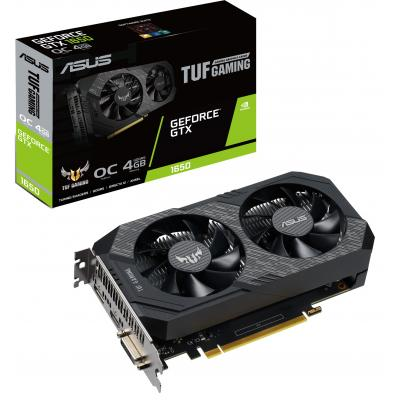 Видеокарта ASUS GeForce GTX1650 4096Mb TUF OC GAMING (TUF-GTX1650-O4G-GAMING)