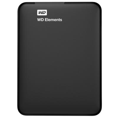 "Внешний жесткий диск 2.5"" 1TB Western Digital (WDBUZG0010BBK-WESN)"