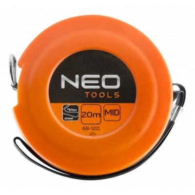 Рулетка NEO лента измерительная стальная, 20 м (68-120)