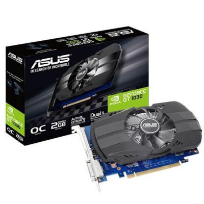 Видеокарта ASUS GeForce GT1030 2048Mb OC DDR4 (PH-GT1030-O2GD4)