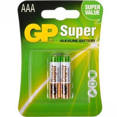 Батарейка AAA LR3 Ultra alcaline * 2 GP (24AU-U2/24AU-UE2/GP24AUP-UE2)
