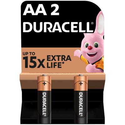 Батарейка AA MN1500 LR06 * 2 Duracell (81267329)