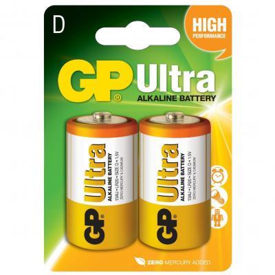 Батарейка D GP LR20U GP (13AU-U2/13AU-UE2/13AUP-U2/13AUP-UE2)
