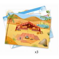 Набор для творчества Djeco переводки Саванна, пустыня и Северный полюс находятся здесь (DJ09560)