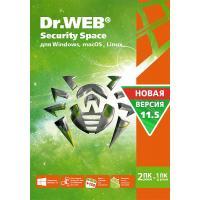 Программная продукция Dr. Web Security Space 10, 2 ПК 2 роки (BHW-B-24M-2-A3)