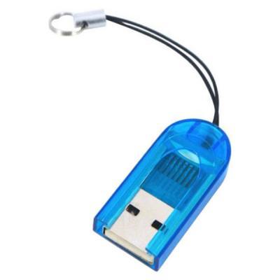 Считыватель флеш-карт ST-Lab MicroSD/TF (U-373 blue)