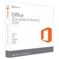 Офісний додаток Microsoft Office 2016 Home and Business Ukrainian DVD P2 (T5D-02734)