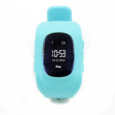 Смарт-часы GoGPS ME K50 Бирюзовые (К50БЗ)
