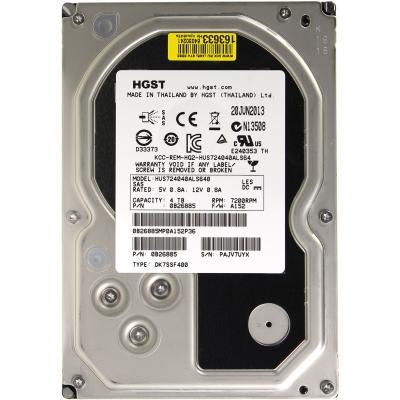 Жесткий диск для сервера 4TB WDC Hitachi HGST (0B26885 / HUS724040ALS640)