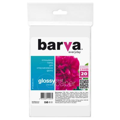 Бумага BARVA 10x15 Everyday 230г Glossy (IP-CE230-216)