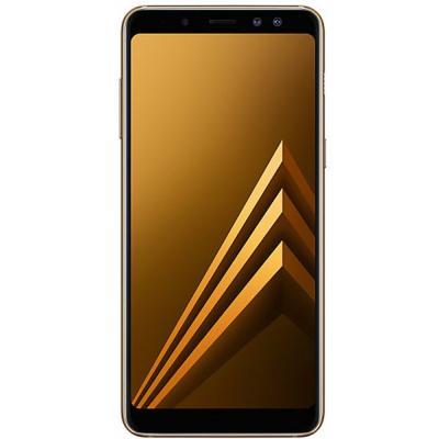 Мобильный телефон Samsung SM-A530F (Galaxy A8 Duos 2018) Gold (SM-A530FZDDSEK)