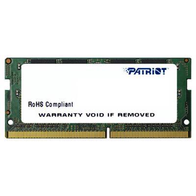 Модуль пам'яті для ноутбука SoDIMM DDR4 16GB 2666 MHz Patriot (PSD416G26662S)