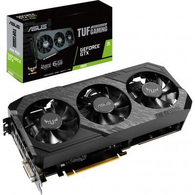 Видеокарта ASUS GeForce GTX1660 6144Mb TUF3 Advanced GAMING (TUF3-GTX1660-A6G-GAMING)