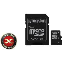 Карта пам'яті Kingston 8Gb microSDHC class 4 (SDC4/8GB)
