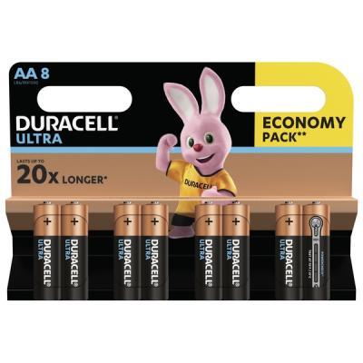 Батарейка Duracell AA Ultra Power LR06 * 8 (5004807)