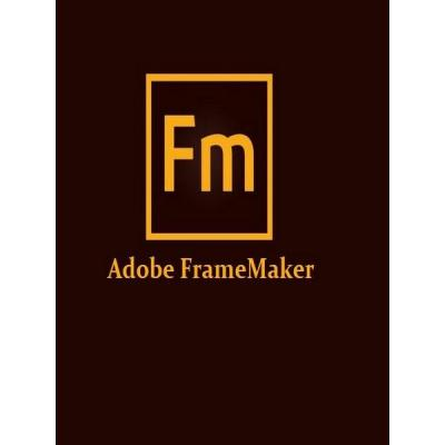 Офисное приложение Adobe FrameMaker 2019 15 Windows English AOO License TLP (65292763AD01A00)