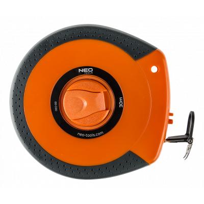 Рулетка NEO лента измерительная, стекловолокно, 30 м (68-030)