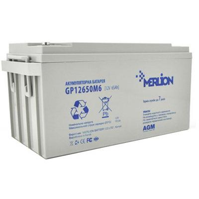 Батарея к ИБП Merlion RDC12-65, 12V-65Ah (RDC12-65)