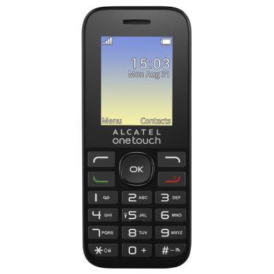 Мобильный телефон ALCATEL ONETOUCH 1016D Volcano Black (4894461319353)