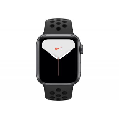 Смарт-часы Apple Watch Nike Series 5 GPS, 44mm Space Grey Aluminium Case with (MX3W2UL/A)